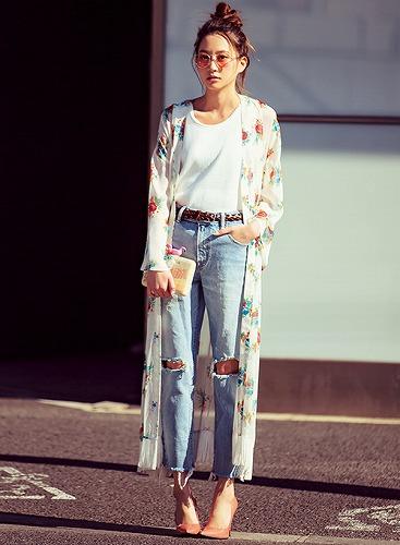 河北麻友子私服ファッション系統画像